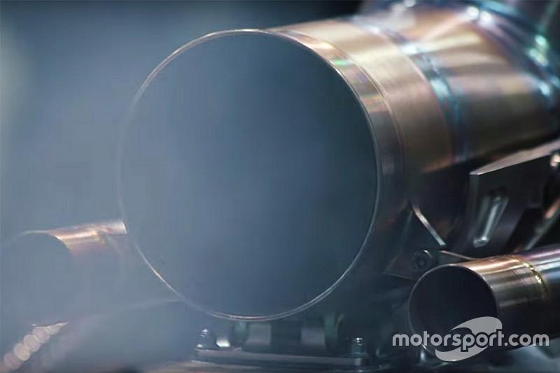 【動画】メルセデス、2018年型エンジン始動。その模様を初公開