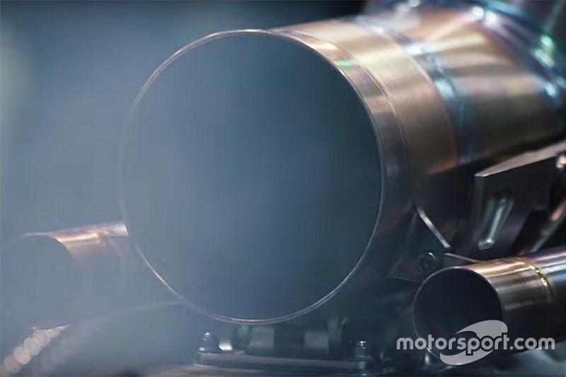 Mercedes pone en marcha el motor de su Fórmula 1 2019