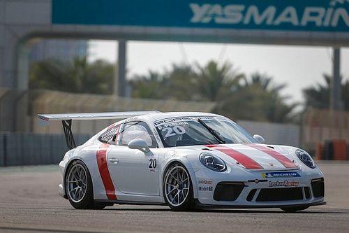 بورشه جي تي 3 الشرق الأوسط: بيريرا يفرض هيمنته على السباق الافتتاحي لجولة أبوظبي
