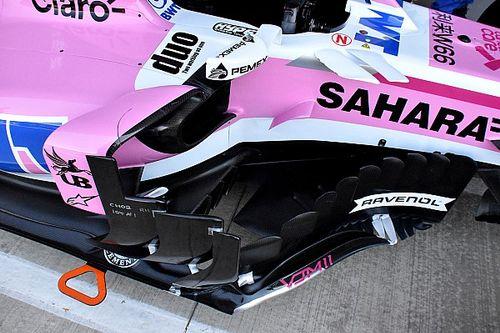 Force India: è arrivato a Silverstone il pacchetto di novità che è mancato in Austria