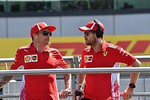 """Vettel vuole ancora Kimi: """"Mi piacerebbe continuare con lui. Leclerc è giovane e veloce. Non c'è fretta"""""""
