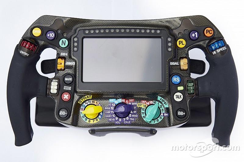 Analyse: Zo werkt het stuur van een Formule 1-bolide