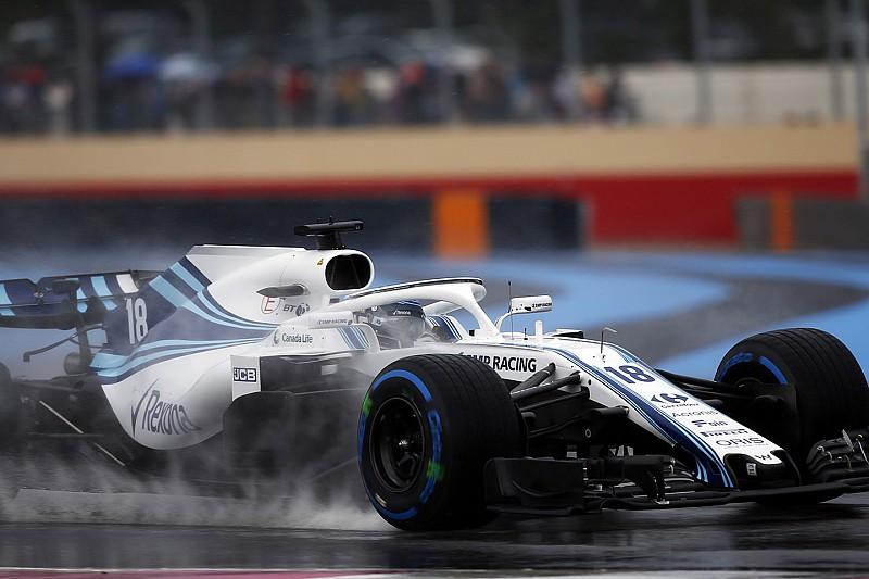 Regen spelbreker tijdens derde training voor GP van Frankrijk