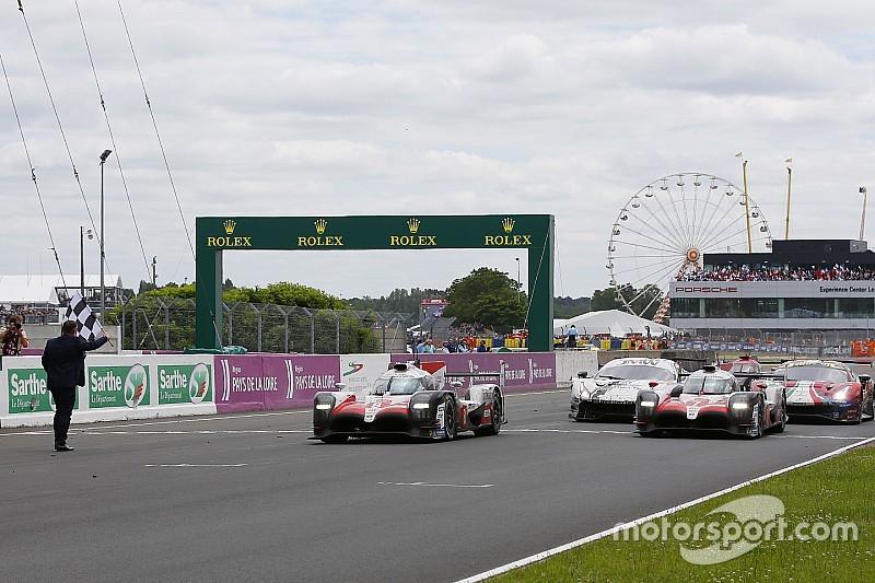 ル・マン決勝速報:トヨタ、ついに勝った! 中嶋一貴が首位ゴール