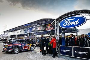 WRC Nieuws M-Sport ontvangt fabrieksondersteuning van Ford in het WRC