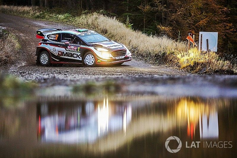 Wales WRC: Evans in control, Ogier leapfrogs rivals