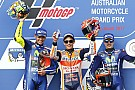 MotoGP Australian MotoGP: Marquez edges clear of frantic battle for victory