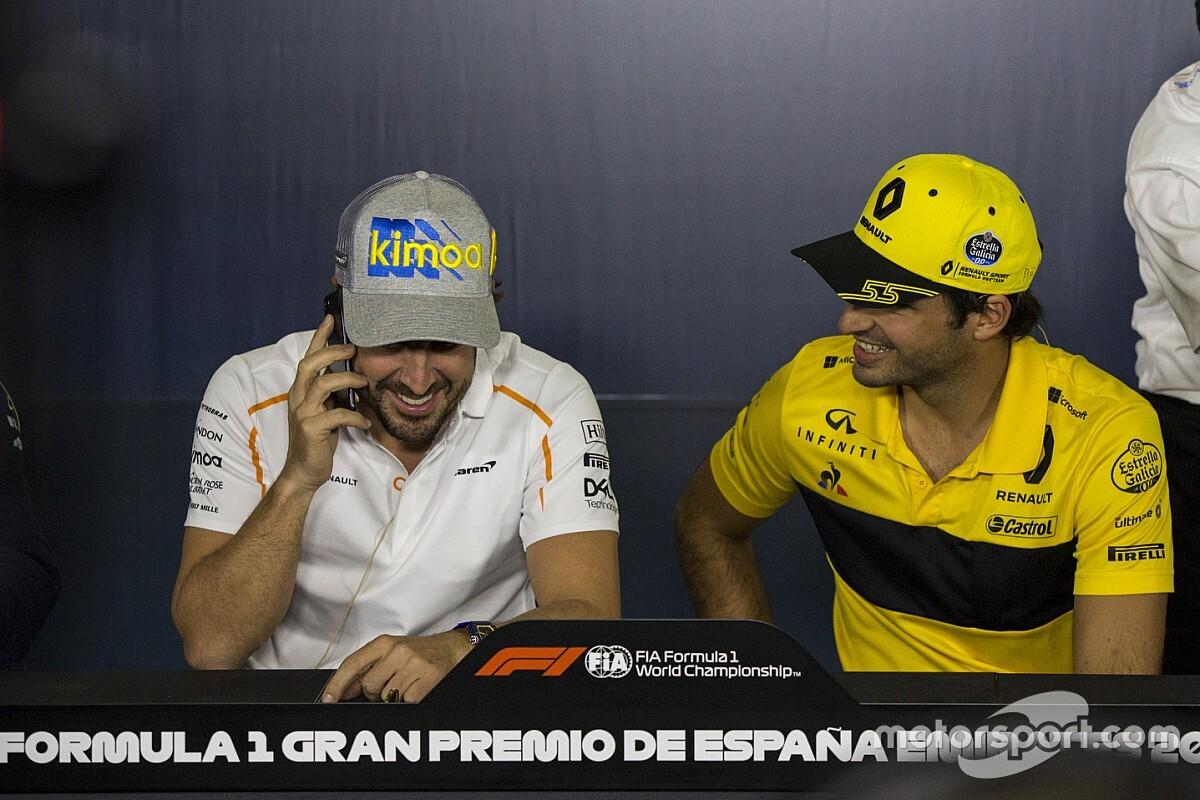 """Sainz defende retorno de Alonso à F1: """"É o lugar dele"""""""