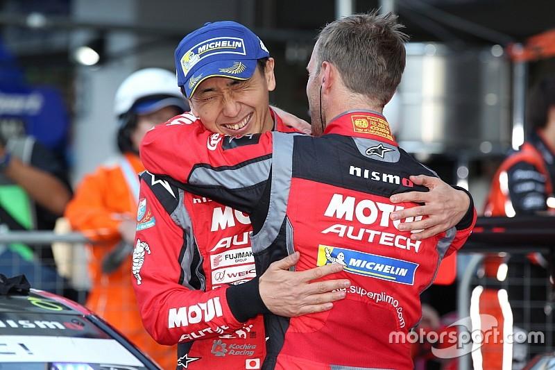 GT500通算20勝目を挙げた松田次生「30勝できるよう努力を続けていく」