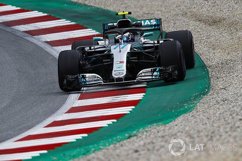 """Mercedes se muestra más """"estable"""" con la actualización en Austria"""