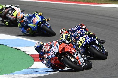 """Dovizioso : Un GP """"assez stressant"""" et une 4e place dont il est fier"""