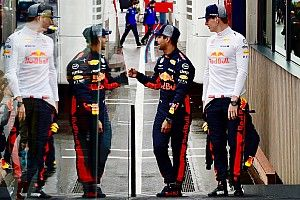 Гонщики Red Bull поругались из-за слипстрима в квалификации