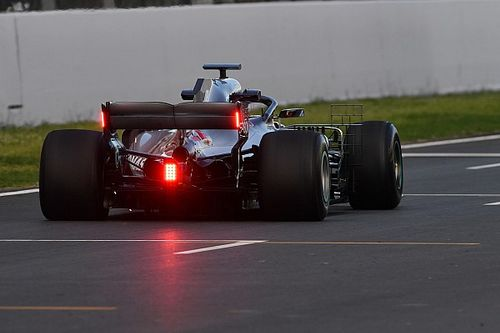 Mercedes testing rear wing rain lights for FIA