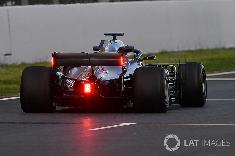 Hecklicht: Mercedes testet für die FIA neues Regenlicht