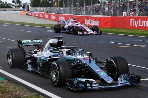 Хэмилтон связал скорость Mercedes в Барселоне с теплой погодой