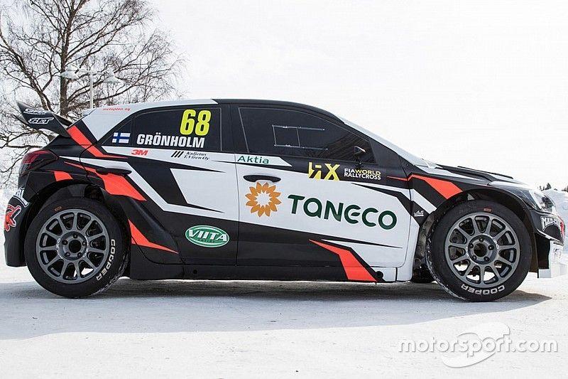 Gronholm to field ex-WRC Hyundais in World RX