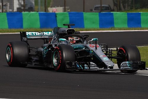 Russell e Mercedes chiudono i test dell'Hungaroring in vetta alla classifica e con il record della pista