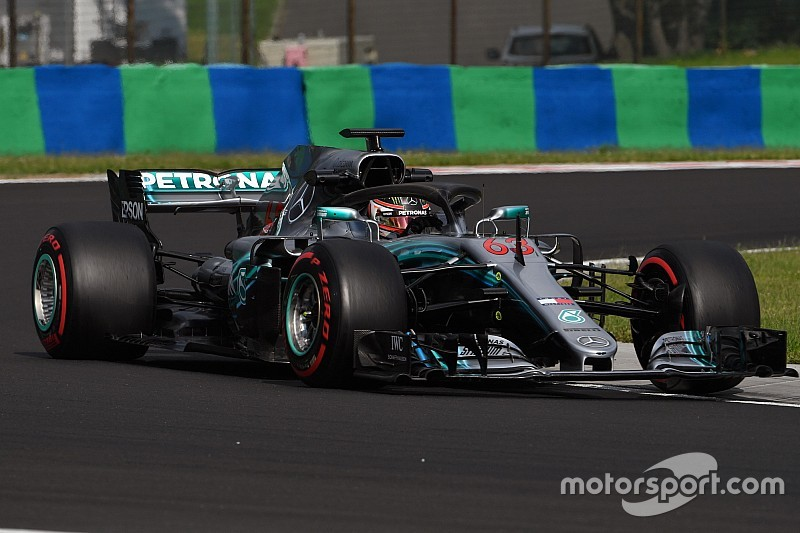 Russell e Mercedes chiudono i test dell'Hungaroring in vetta alla classifica e con il record della pista