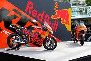 KTM presenta la moto para su segundo año en MotoGP