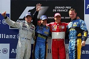 Los pilotos con más podios en Fórmula 1