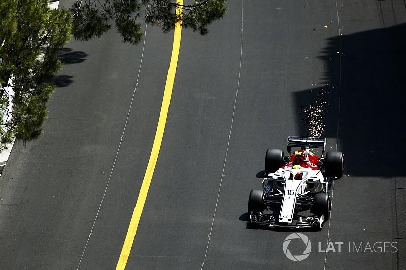 Monaco GP'sinin en hızlı pit stopu Sauber'den geldi
