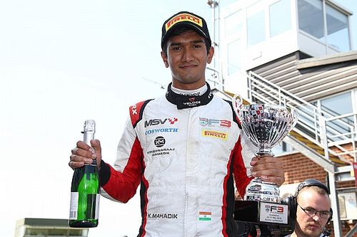 Mahadik aiming for British F3 win repeat at Brands