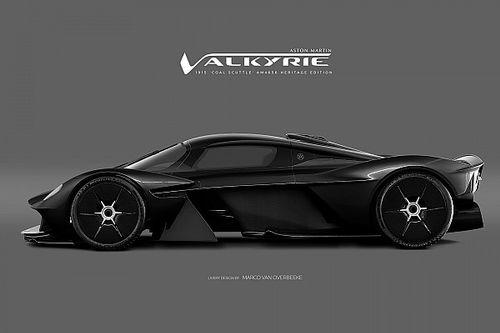 Bildergalerie: Designstudien zum Aston Martin Valkyrie