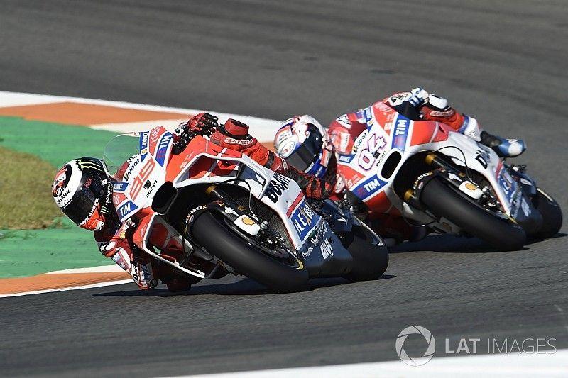 Ducati: Lorenzo/Dovizioso'nun durumunu yanlış anladık