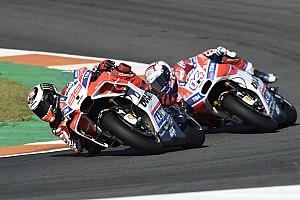MotoGP Nieuws Dovizioso kon Lorenzo niet voorbij komen:
