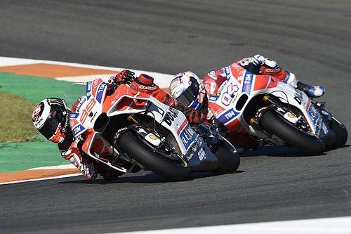 """Dovizioso kon Lorenzo niet voorbij komen: """"Ik zat op de limiet"""""""