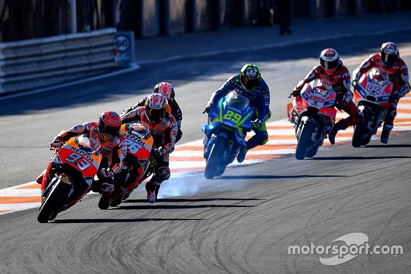 MotoGP-Finale in Valencia: Das Rennen in der Foto-Chronologie