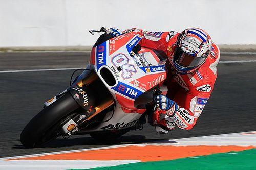 Le comportement en virage, l'axe de progression principal de Ducati