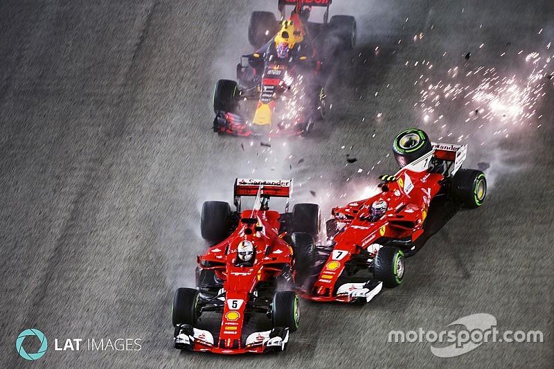 In beeld: Tien eerdere incidenten tussen Verstappen en de Ferrari's
