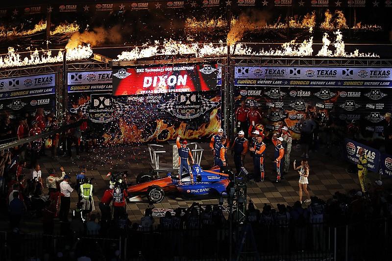 Scott Dixon sigue su buen momento y gana en Texas