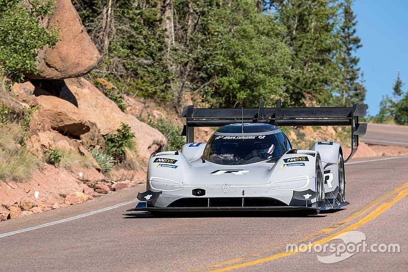 Electric VW could go 10s faster at Pikes Peak