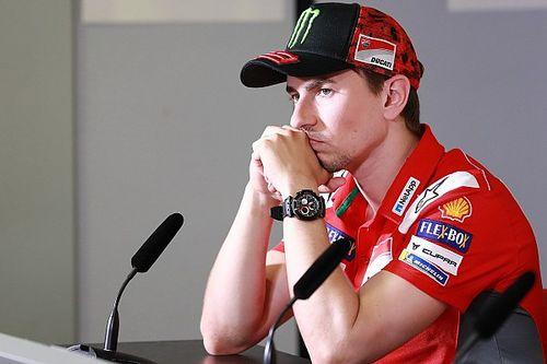 Lorenzo benaderde Honda zelf na aanstaande breuk met Ducati
