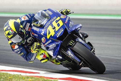 """Rossi concentré sur les pneus, """"la clé"""" pour une bonne course"""