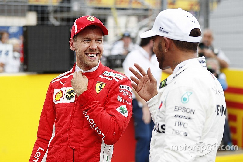 "Hamilton wishing for more ""head-to-head"" Vettel battles"