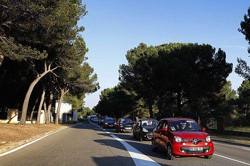 Verkehrschaos in Le Castellet: Grosjean legt sich mit Polizei an