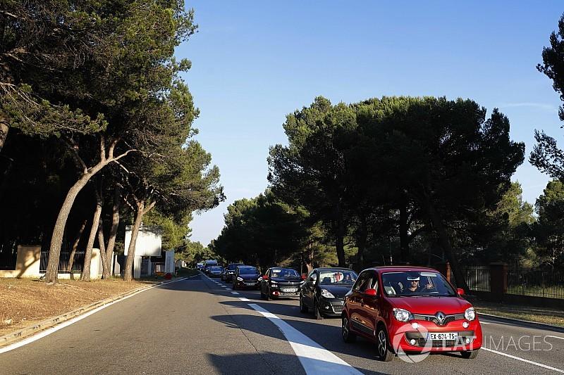 El tráfico causa problemas en el Gran Premio de Francia