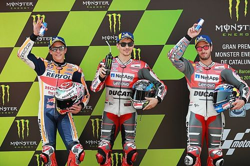 Starting grid MotoGP Catalunya 2018