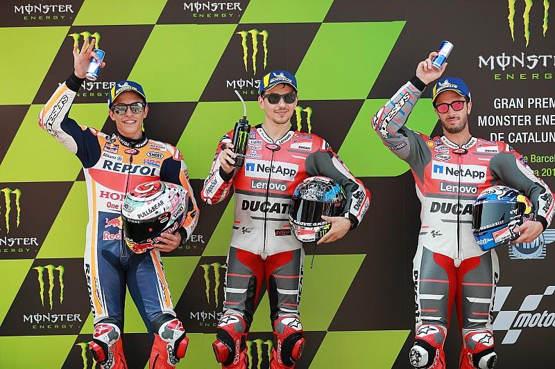 La parrilla de salida del GP de Cataluña MotoGP