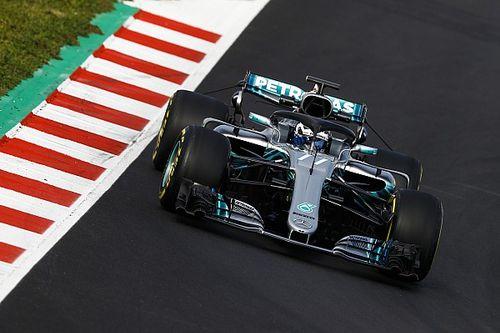 """Formel-1-Test Barcelona: Mercedes führt zur """"Mittagspause"""""""