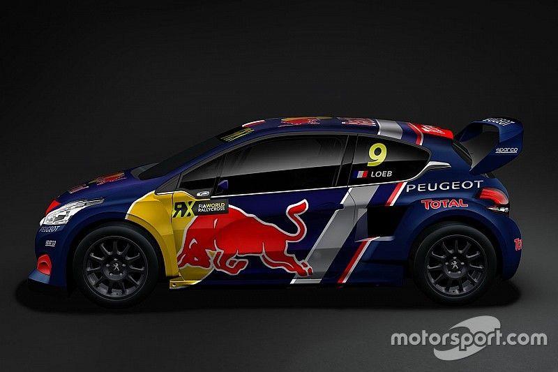 Einmal Loeb und zweimal Hansen: Peugeot stellt WRX-Team vor