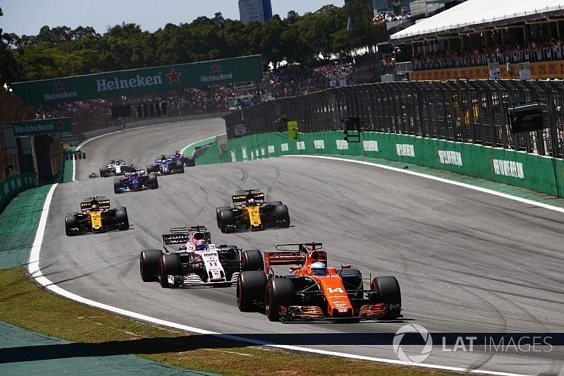 Pérez lamentó el incidente en el inicio con Alonso