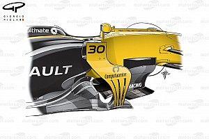 Tech: De evolutie van de Renault RS17 in 2017
