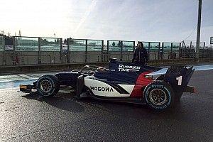 Com halo, Fórmula 2 faz primeiros testes em Magny-Cours