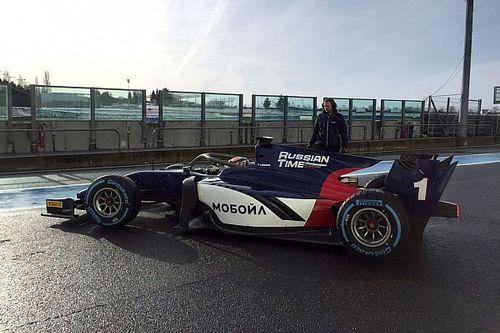 Formel 2 2018: Neues Auto erstmals auf der Rennstrecke
