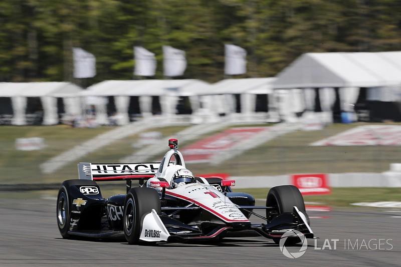 Ньюгарден впервые в сезоне выиграл квалификацию IndyCar