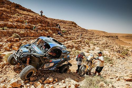 Victory for Can-Am at the Afriquia Merzouga Rally